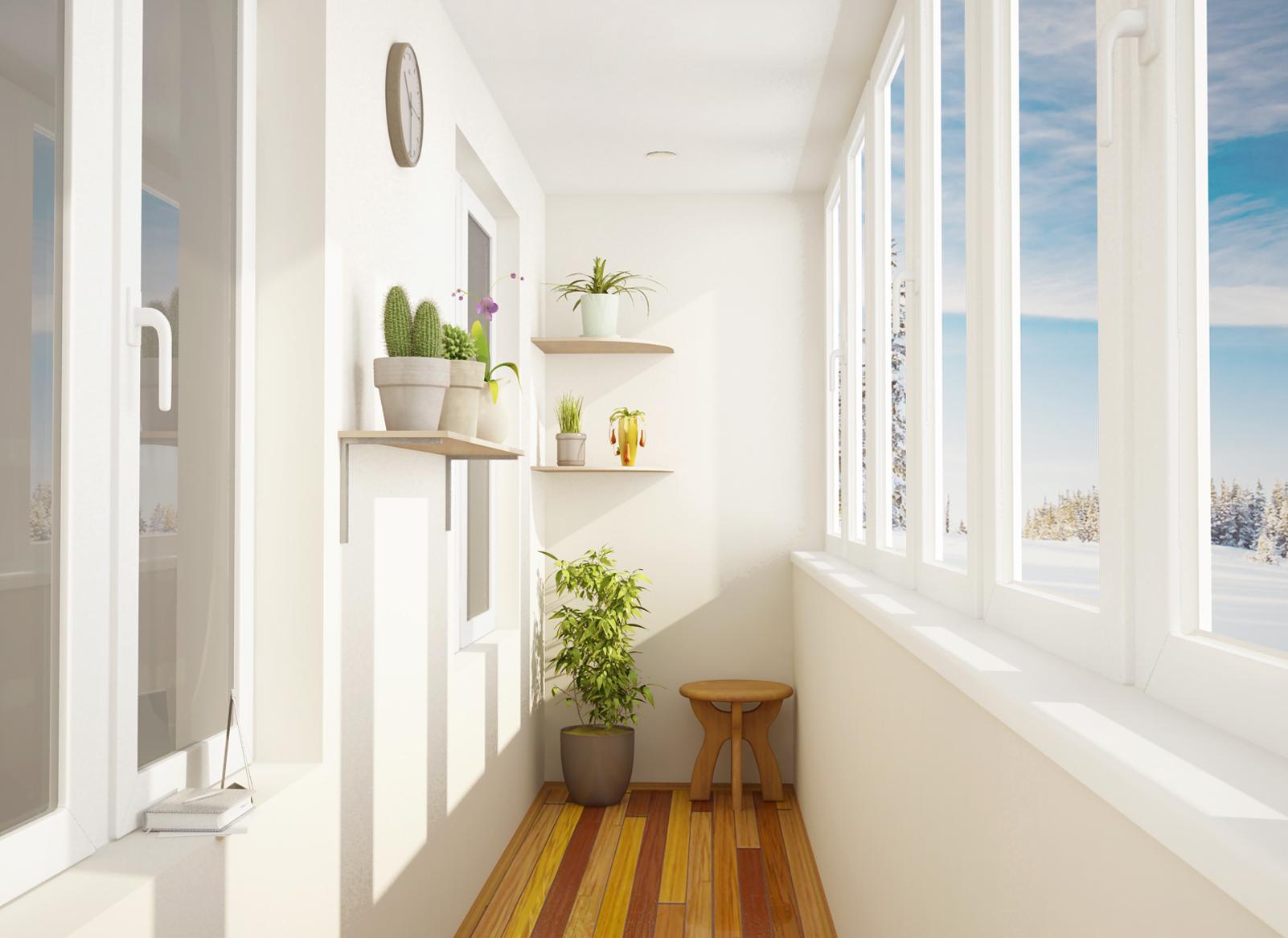 Теплое остекление балконов и лоджий в Сыктывкаре